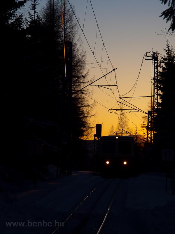 A ŽSSK OŽ 905 952-8 Szentiványi-csorbató állomáson fotó