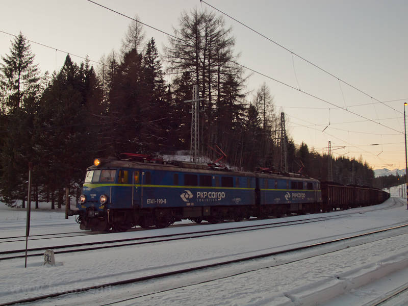 The PKP Cargo ET41 190-B se photo