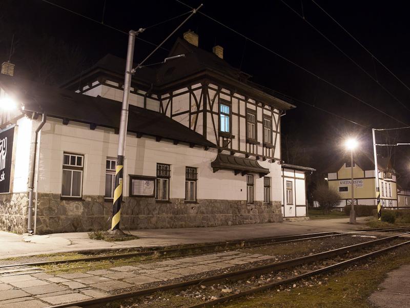 Tátralomnic állomás épülete a kisvasúton fotó