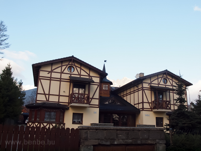 Architecture in the Tatras photo
