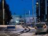 A ŽSSK TEŽ 425 951-1 Poprád-Felka állomáson a Tátrai Villamos depójában