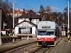 A ŽSSK TEŽ 425 954-5 Tátralomnic állomáson