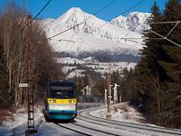 A ČD 682 007-0 Csorba és Csorba megálló között