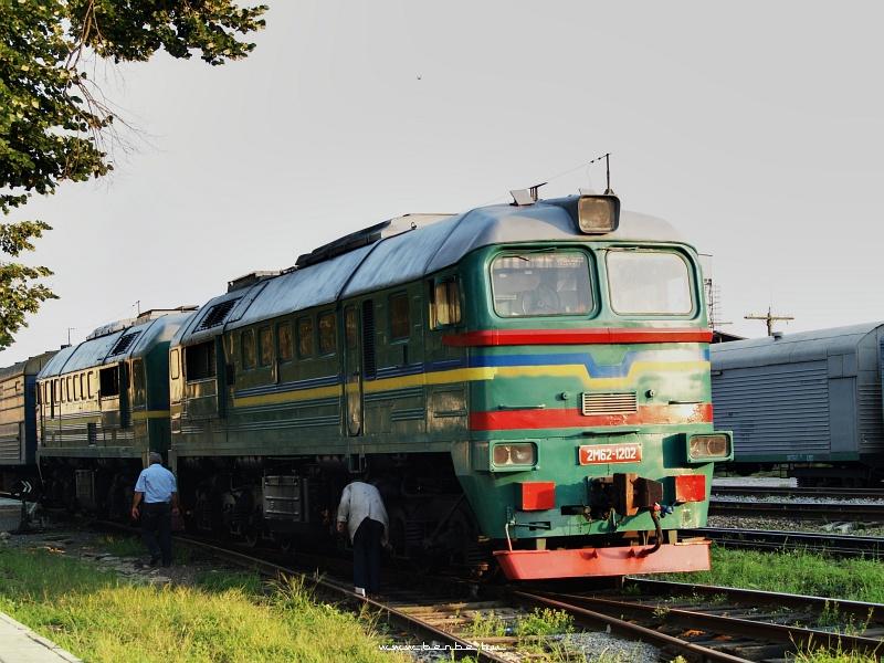 2M62 1202 a lembergi gyorssal Beregszászra fotó