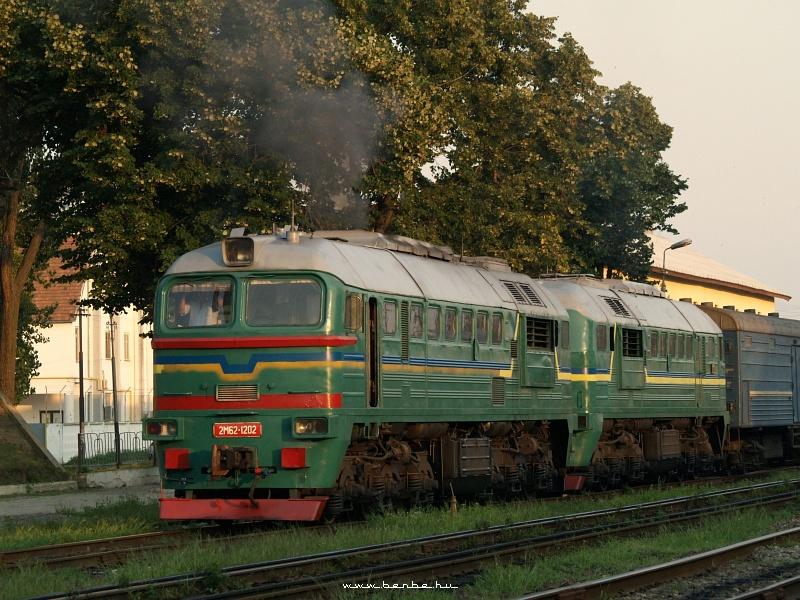 2M62 1202 indul Beregszászról fotó