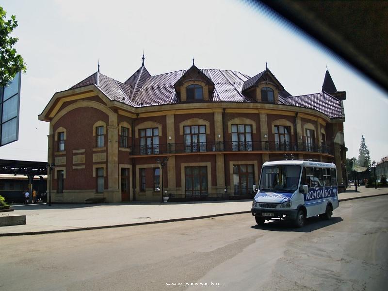 Ungvár pályaudvara (Ужгород) fotó