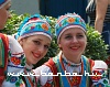 Folk dancer girls