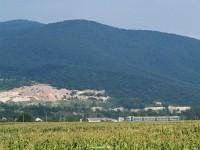 D1 563-1 k�zeledik Fels�veresmart (Велика Кoпаня) meg�ll�helyhez