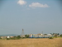 D1 563-1 halad Aknaszlatina felé Szeklence (Сокирниця) mellett