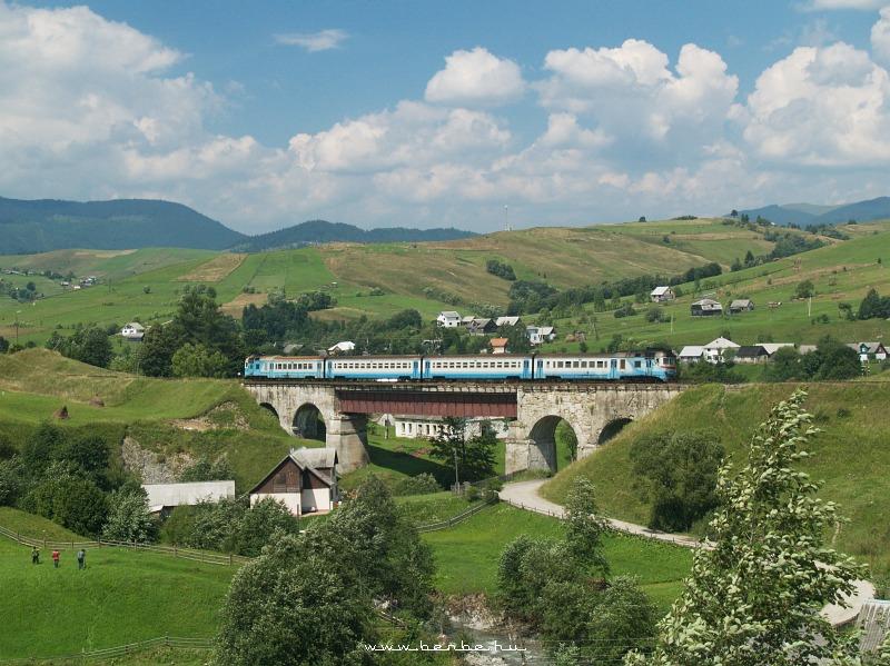 D1 607 a Kõrösmezõi viadukton fotó