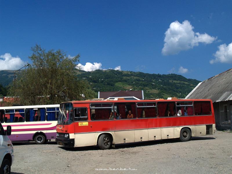 Ikarus távolsági busz a rahói buszállomáson fotó