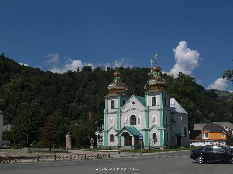 Rögtön mellette az ortodox fotó