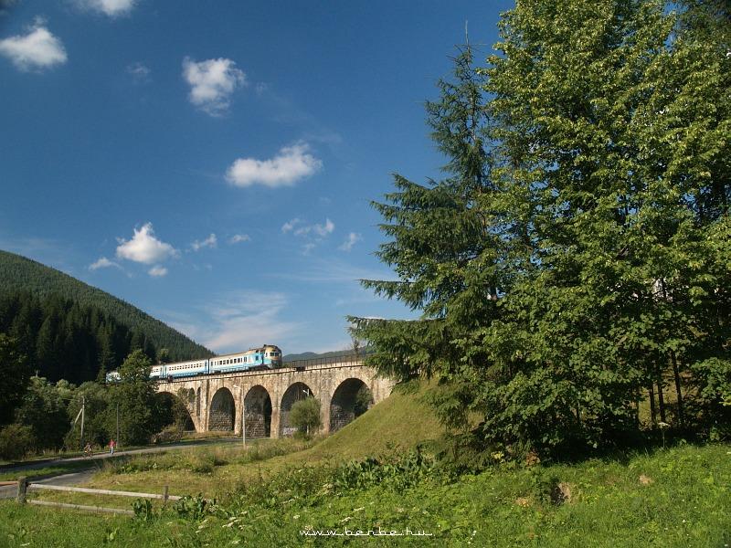 D1 607 Worochtában a Prut hídján fotó