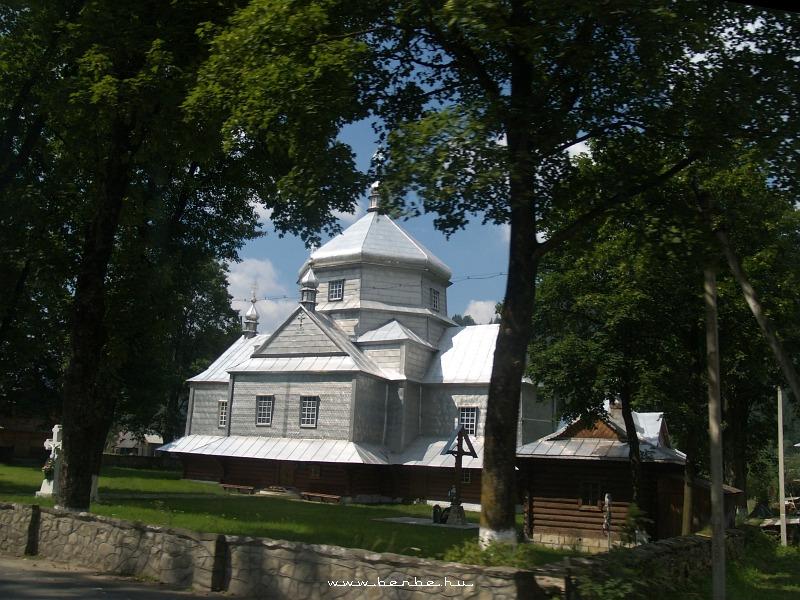 Pravoszláv templom Mikulicsinben fotó