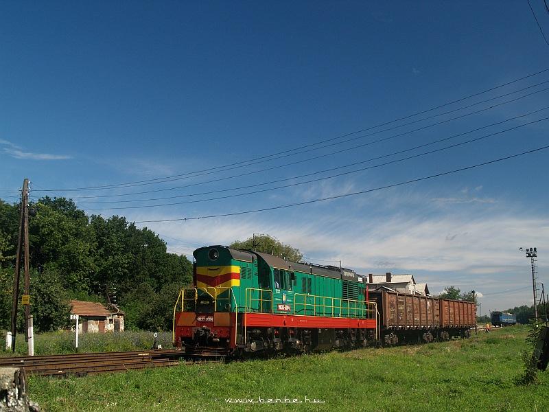 CsME3-3084 Стефанешти (Sztyepanyestyi) állomáson tolatgat fotó