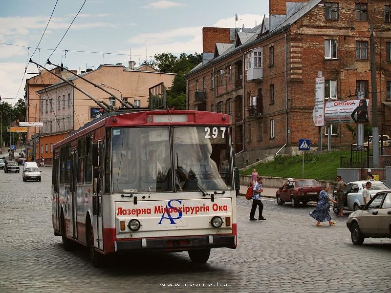 Trolibusz Csernyovicban fotó