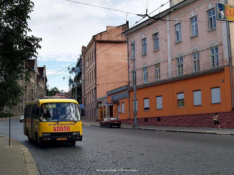 Busz Csernyovicban fotó