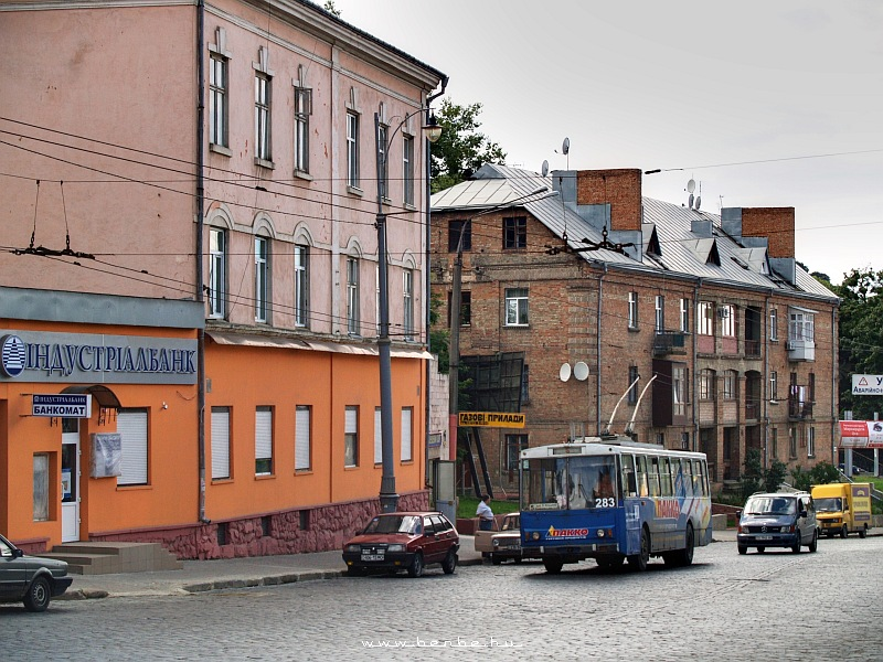 Trolibusz Csernovicban fotó