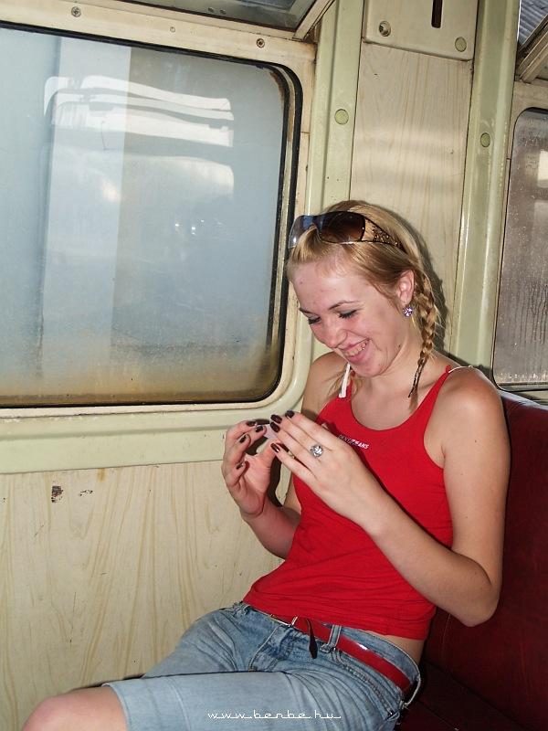 DPL1-002 beltere Kolomija állomáson fotó