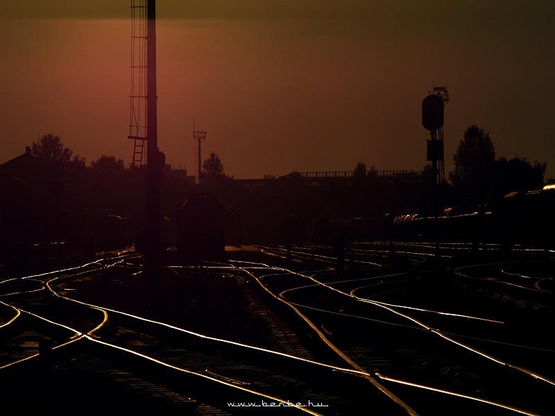 Kolomija a naplementében fotó