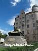 A tank at Chernovci