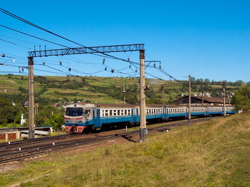 Az UZ ER2 638 Volóc állomás fotó