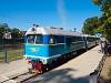 Az UZ / Ungvári Gyermekvasút TU2 098 Ifjúság állomáson