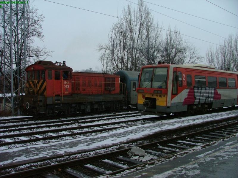 M44 522 és 63-41 013-8 Szegeden fotó