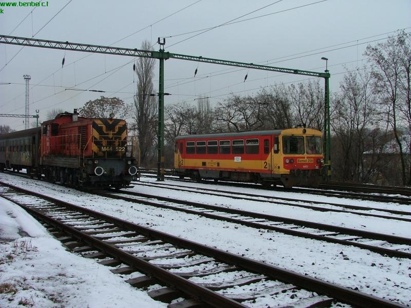 Bzmot 259 és M44 522 Szegeden fotó