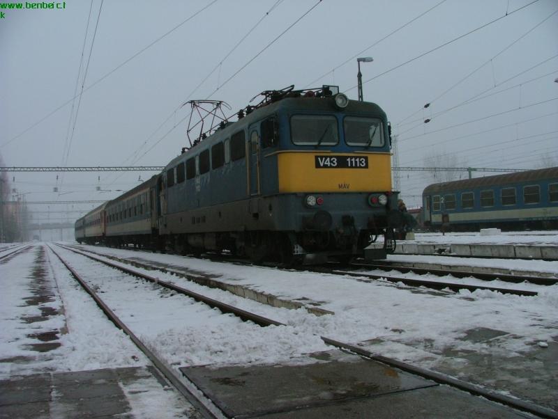 V43 1113 Békéscsabán fotó