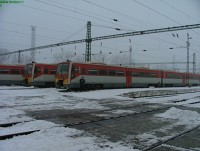 Sprinters at B�k�scsaba station