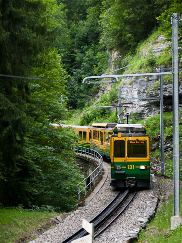 A Wengernalpbahn BDhe 4/8 1 fotó