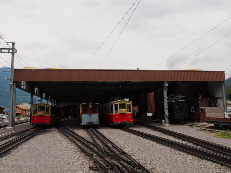 The depot of the Schynige P photo