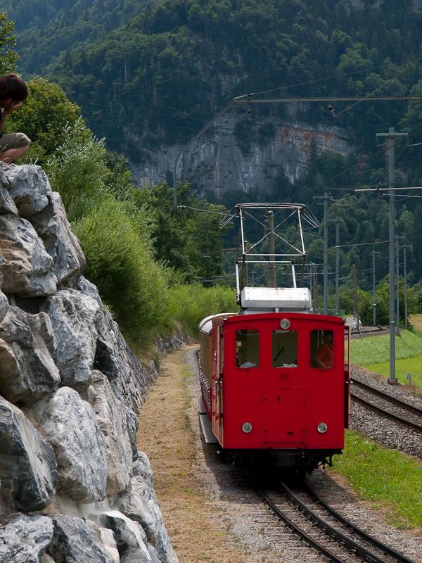 A Schynige Platte-Bahn He 2 fotó