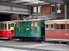 A Schynige Platte-Bahn He 2/2 12 Wilderswil állomáson
