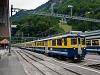 A Berner Oberlandbahn ABeh 4/4 I  304 Zweilütschinen állomáson