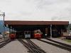A Schynige Platte-Bahn kocsiszínje Wilderswilben