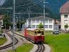 A Schynige Platte-Bahn He 2/2 13 Wilderswil és Rotenegg között
