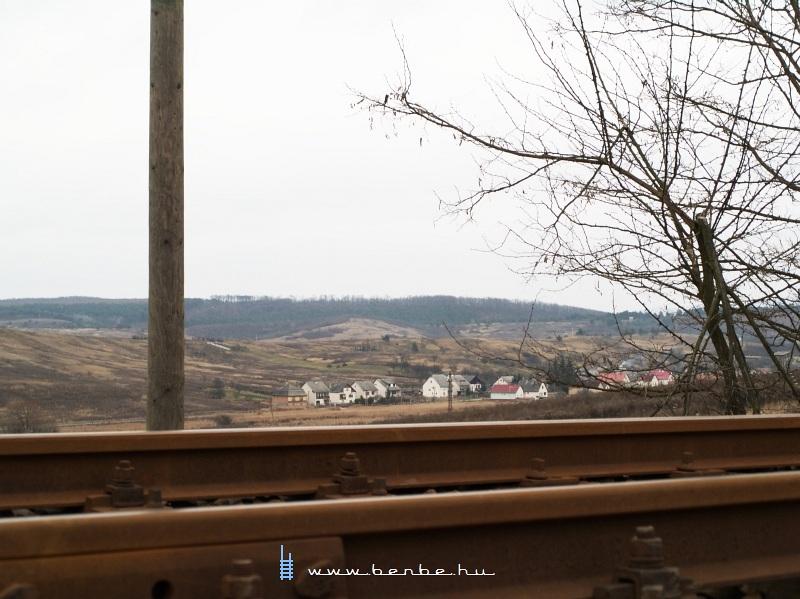 Kilátás Sáta falura fotó