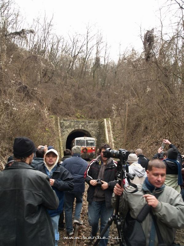 Bzmot 406 a sátai alagútban fotó