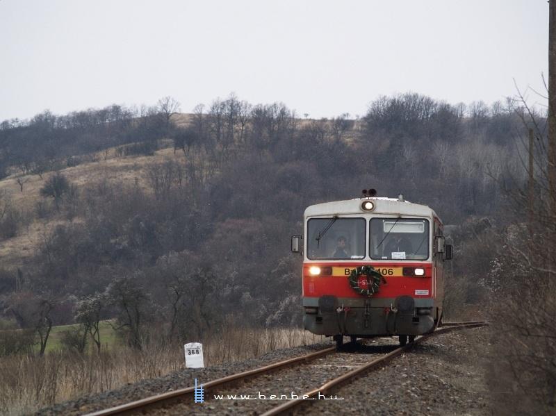 Bzmot 406 Szilvásvárad mrh. és Nagyvisnyó-Dédes között fotó