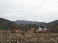 Bzmot 406 Királd bányászházai fölött