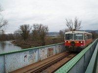 Bzmot 406 a Sajó hídján Putnoknál