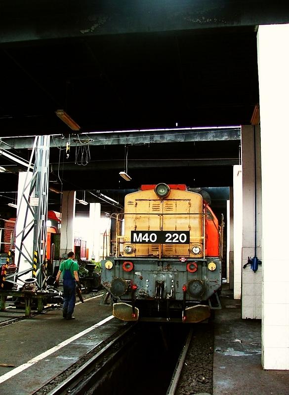 M40 220 a hatvani fûtõházban fotó