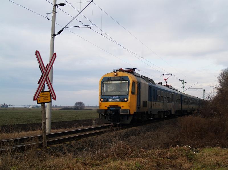 BDVmot 003 Vácrátót és Váchartyán között fotó