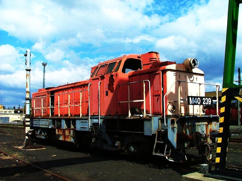 The M40 239 at Hatvan photo