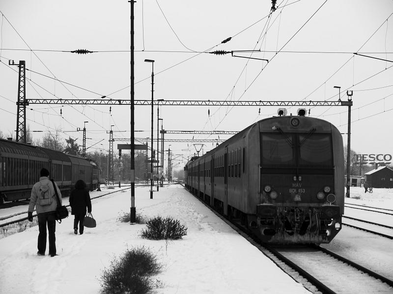 BDt 453 Jászberényben fotó