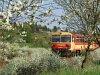 Bzmot 340 Nógrád állomásra érkezik