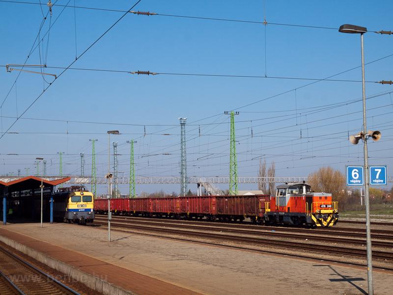 A MÁV-START 478 340 Cegléd állomáson fotó
