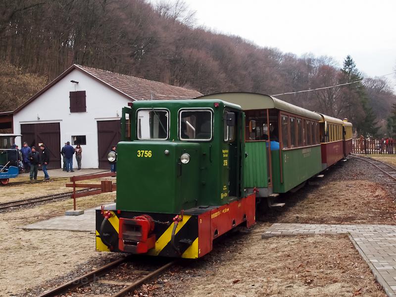 The Nagybörzsönyi Erdei Vasút (Nagybörzsöny Forest Railway) C50 3756 seen at Nagybörzsöny station photo